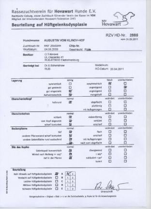 Сертификат Гринго HD-A1
