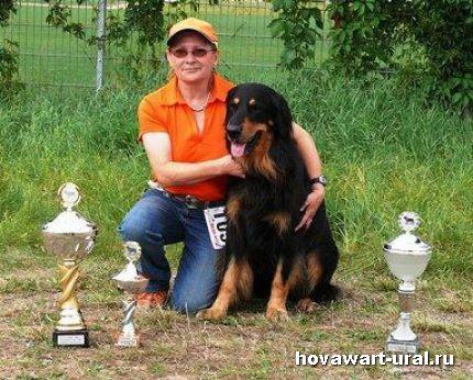 Наша Барбара и Clubsieger 2008