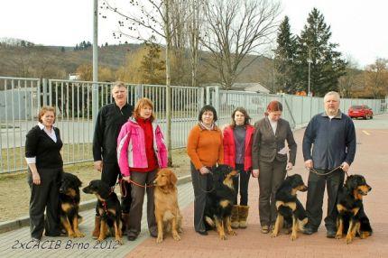Наша команда в Брно