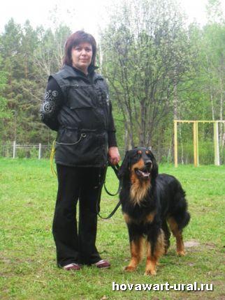 Наталья и Акелло :-)